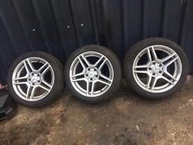 Mercedes amg genuine 17' alloys&tyres