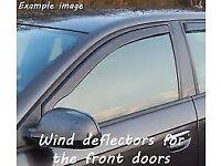 Renault Clio 2009 Wind deflectors/Visors