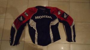 manteau moto Honda Joe Rocket grandeur large