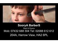 Barber (male hairdresser)