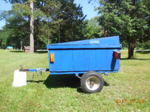 Small utility trailer