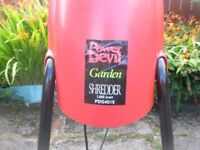 Garden Shredder, 1400w, Good Condition, Hardly Used.