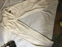 Youths cricket clothing - Hunts County pants size 30/32. John Lewis Top size 30/32 Fit 13 – 16 yrs