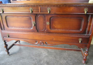 Antique Sideboard/Buffet by Gibbard