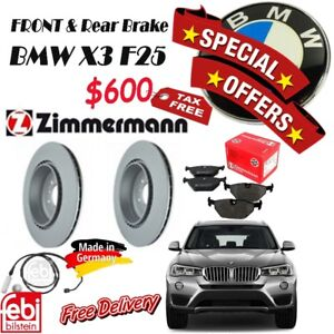 SPECIAL OFFER for Brake Set Package- BMW- X3 F25