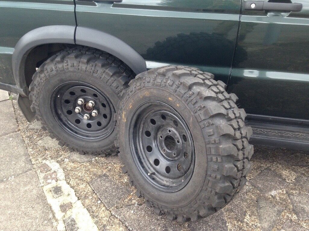 Land Rover Discovery 2 Off Road Wheels And Tyres 4x4 In