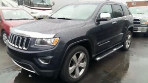 2014 Jeep Grand Cherokee Limited,V-6,Toit,Navigation,équipé comp