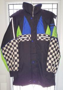 Nascar style winter jacket - boys size 18