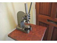 Industrial Heavy Duty Curtain Eyelet/ Press Stud, Rivet Machine(40mm DICE)