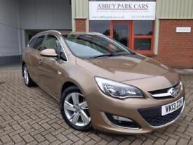 2013 (13) Vauxhall Astra 2.0CDTi 16v ( 165ps ) SRi Automatic - Bronze