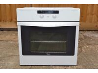 Whirlpool AKZ151/WH Built In Electric Single Oven White - Delivery Available - Rushden - Northants