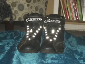 Limited Edition Mint-Condition Alpine Motorcycle Shoes