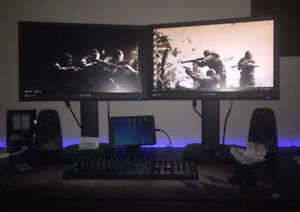 Widescreen Dual Monitors LED Full HD Best Gaming Monitors