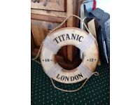 Replica Titanic Lifebelt