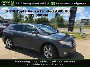 2009 Toyota Venza AWD -Leather-Sunroof-Low Kms