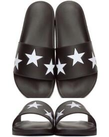 Givenchy STAR Slippers Unisex brand new