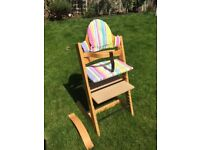 Stokke TrippTrapp high chair - very good condition