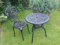 Victorian style garden set