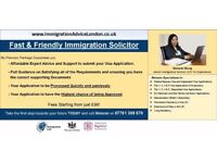 IMMIGRATION SOLICITOR - UK Visa Advice, Spouse Visa, Tier 1, 2, 4 & 5, EEA, ILR - FREE Assessment