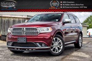2017 Dodge Durango Citadel|AWD|6Seater|Navi|Sunroof|DVD|Backup C