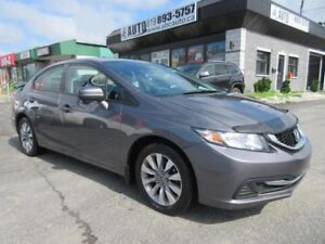 2014 Honda Civic Berline EX automatic (only 58,529 KM)