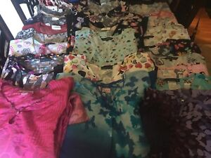 Lots of scrub tops and bottoms $5 each