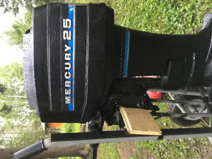 25hp mercury outboard