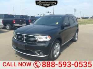 2015 Dodge Durango AWD SXT Accident Free,  Bluetooth,