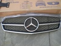 C63 Style Front Grille for C-Class 2009-2015