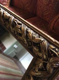 Large mirror decorative frame