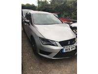 2016 seat Leon cupra 290 black edition tsi DSG salvage damaged