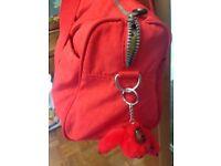 Kipling bright red handbag