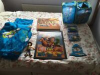 Massive Toy Story bedroom bundle. Curtains, blankets table chair etc