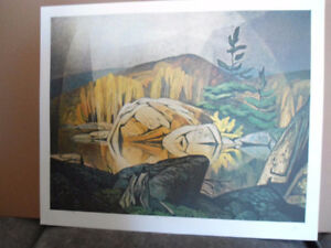 Several  A J  Casson Ltd. Edition Hand Signed Prints with COA's