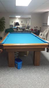 Slate Pool Table, Mint !!