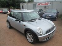 MINI ONE 2005 55 1.6 LTR PETROL 1 YEAR MOT 96000 MILES VERY CLEAN CAR!!!
