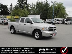 2014 RAM 1500 QUAD CAB SHORT BOX 4X4 3.6L V6