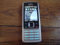 Nokia 6300 unlocked with charger
