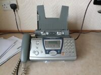 Panasonic KX FP145 Phone, Ansaphone, Copier and Fax Machine