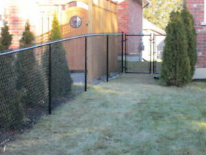 Fence for A/C