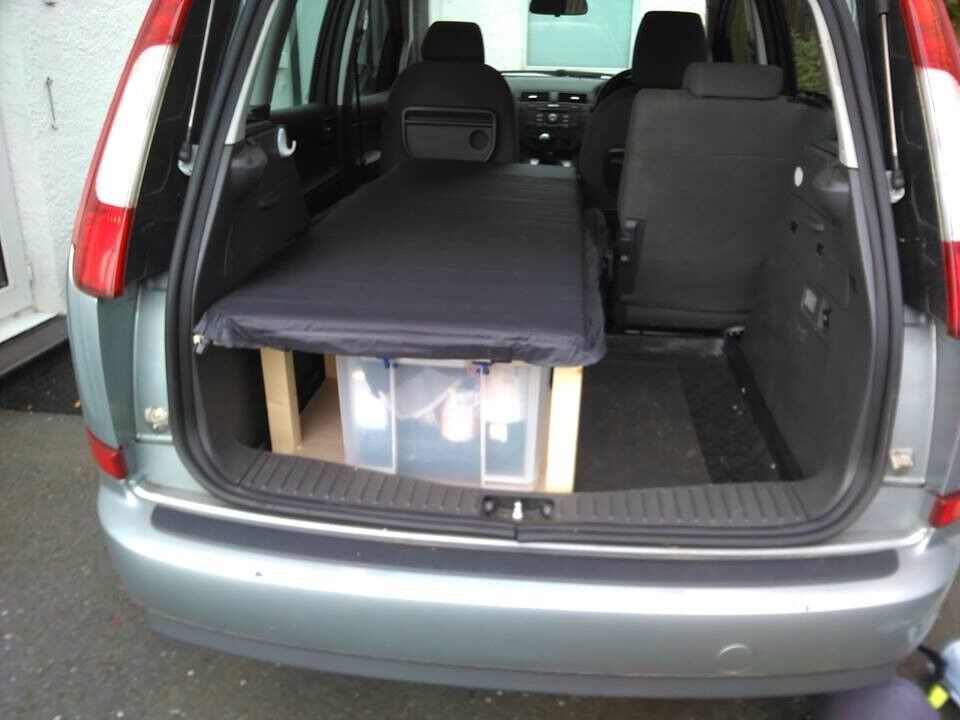 Ford Focus Cmax Camper Conversion 05 Reg Lovely Car In