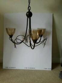 Pendant ceiling light very good condition