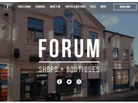 FORUM SHOPS AND BOUTIQUES - Great Space to Let in Sheffield City Centre