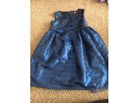 2-3yrs blue party dress