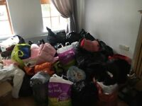 House clearance!!!! Lots of ladies gents kids and babies clothes, shoes coats and handbag s