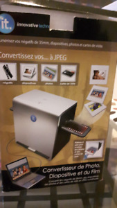 Convertisseur diapositives en JPEG