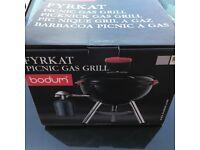 New Bodum fyrkat gas barbecue