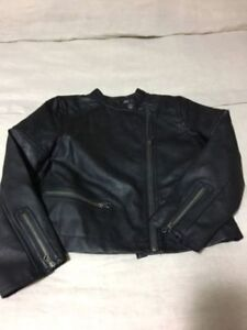 Gap Girls Leather Jacket