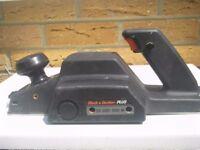 Electric Planer: Black and Decker Plus – SR600