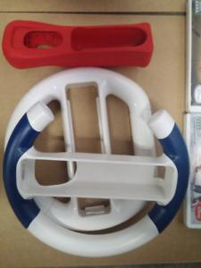 Wii steering wheels and sleeve